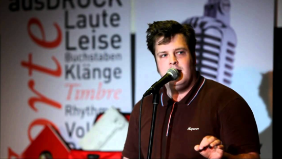Sven Kamin Das Gedicht Poetry Slam Schule