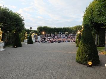 Sommer-Poetry Slam im Gartentheater Hannover Herrenhausen Sven Kamin